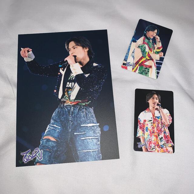 Kis-My-Ft2(キスマイフットツー)のキスマイTo-y2 フォトカード 千賀健永 Kis-My-Ft2 エンタメ/ホビーのタレントグッズ(アイドルグッズ)の商品写真
