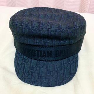 Dior - DIOR ディオール 帽子 ロゴ ブラック系 キャスケット ハット