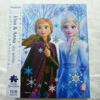 アナトユキノジョオウ(アナと雪の女王)のパズル 108ピース アナと雪の女王(キャラクターグッズ)
