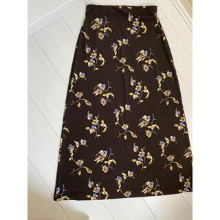 23区 - 1月いっぱいの価格 23区 花柄ロングスカート
