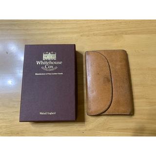 ホワイトハウスコックス(WHITEHOUSE COX)のホワイトハウスコックス ヴィンテージブライドルレザー 高級 三つ折り財布(折り財布)