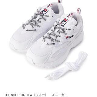 FILA - 新品 ダッドスニーカー FILA ホワイト