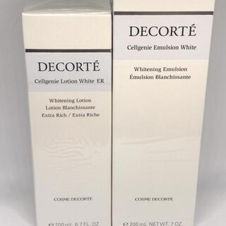COSME DECORTE - セルジェニー エマルジョン ホワイトセルジェニー ローション ホワイト