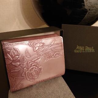 ジャンポールゴルチエ(Jean-Paul GAULTIER)の【激レア!!】ジャンポールゴルチエ ニューローズ ピンク 新品 薔薇 バラ 財布(財布)