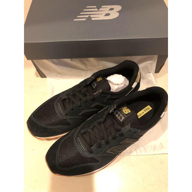New Balance(ニューバランス)の新品 ニューバランス 996 24.5cm ブラック レディースの靴/シューズ(スニーカー)の商品写真