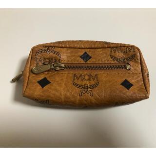 MCM - mcm エムシーエム アナグラム 本革 キーリング付き コインケース 小物入れ
