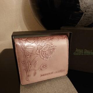 ジャンポールゴルチエ(Jean-Paul GAULTIER)の【希少】ジャンポールゴルチエ ニューローズ ピンク バラ 薔薇 財布(財布)