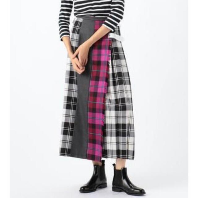 TOMORROWLAND(トゥモローランド)の【別注】オニールオブダブリン × TOMORROWLAND O'NEILスカート レディースのスカート(ロングスカート)の商品写真