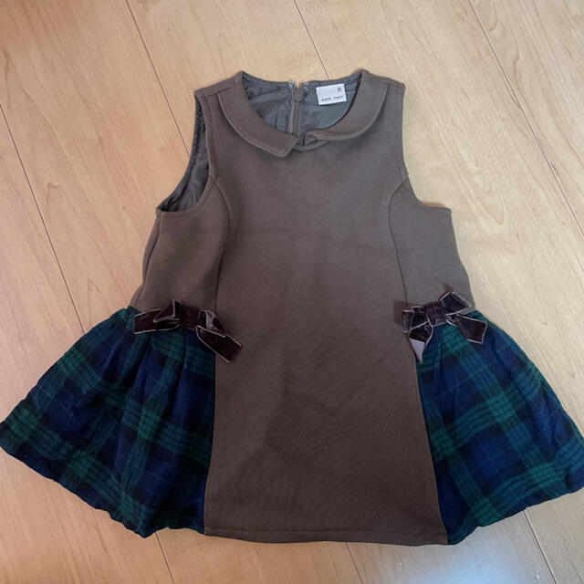 petit main(プティマイン)のプティマイン  ワンピース80 キッズ/ベビー/マタニティのベビー服(~85cm)(ワンピース)の商品写真