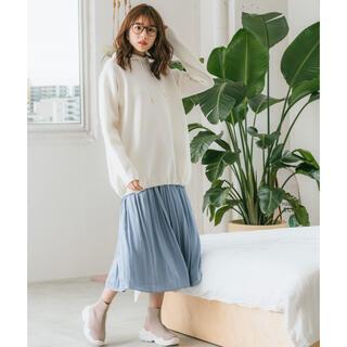 Andemiu - Andemiu ニットフーディ オフホワイト フリーサイズ
