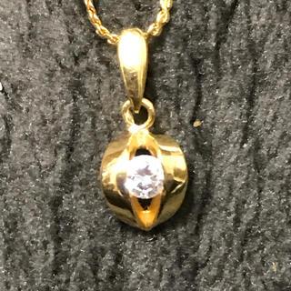 K18 ダイアモンドプチネックレス