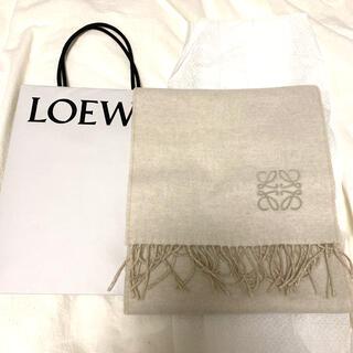 LOEWE - バイカラーマフラー