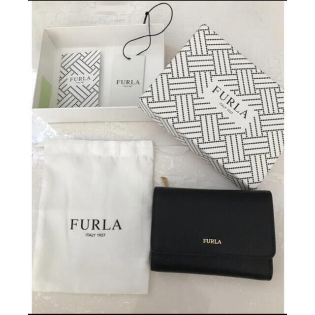 Furla(フルラ)の【FURLA】フルラ バビロン 三つ折り ミニ財布 レディースのファッション小物(財布)の商品写真