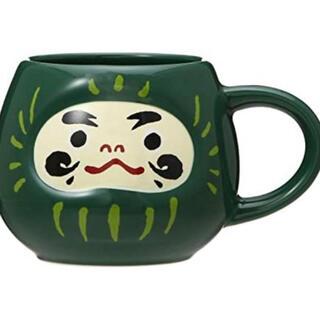 スターバックスコーヒー(Starbucks Coffee)のスターバックス ニューイヤー2020 だるま緑マグ(マグカップ)