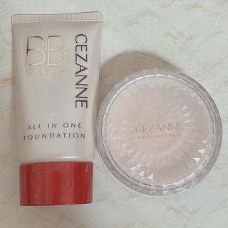 セザンヌケショウヒン(CEZANNE(セザンヌ化粧品))のセザンヌ BBファンデ+パウダーセット(ファンデーション)