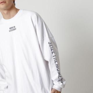 アズールバイマウジー(AZUL by moussy)のAZUL BY MOUSSY メンズ 長袖Tシャツ(Tシャツ/カットソー(七分/長袖))