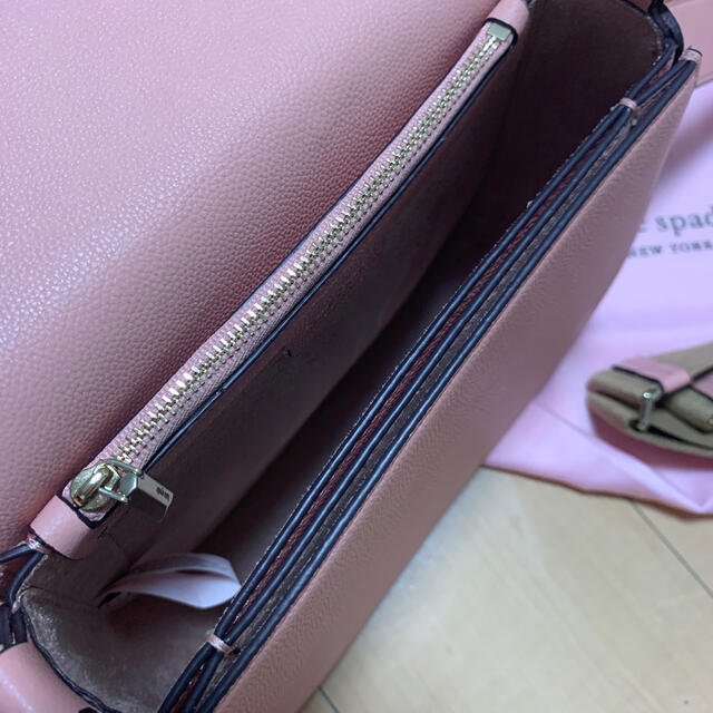 kate spade new york(ケイトスペードニューヨーク)のkate spade スージーラージサドル ピンク レディースのバッグ(ショルダーバッグ)の商品写真