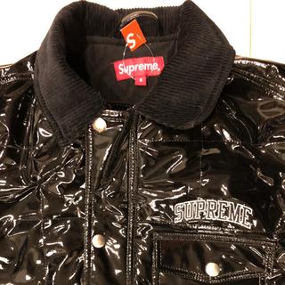 シュプリーム(Supreme)のシュプリーム quiltied patent vinyl work jacket(その他)