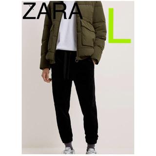 ZARA - 【ZARA】コーデュロイジョガーパンツ 新品