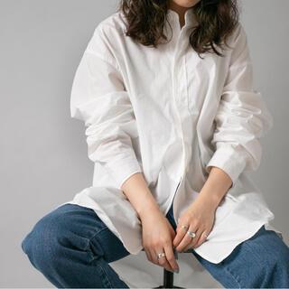 Kastane - 【UNISEX】TYPEWRITER RETRO DRESS SHIRT