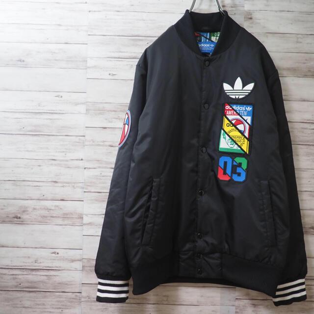 adidas(アディダス)の15AW Adidas Originals Labels SST JKT O メンズのジャケット/アウター(スタジャン)の商品写真