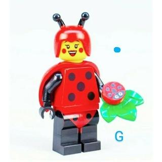 レゴ(Lego)のサンタモニカ様専用 レゴ  てんとう虫ガール(知育玩具)