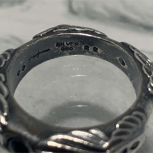 Yohji Yamamoto(ヨウジヤマモト)の初期 Yohji Yamamoto ヨウジ アーカイブ エンジェル バンドリング メンズのアクセサリー(リング(指輪))の商品写真