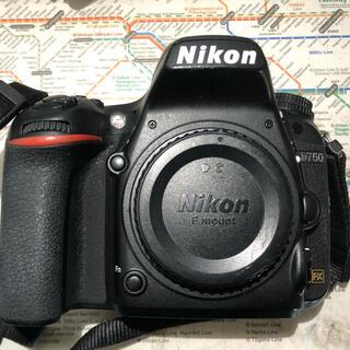 Nikon - Nikon フルサイズカメラ D750 バッテリー2個 バテグリ付 損しようあり