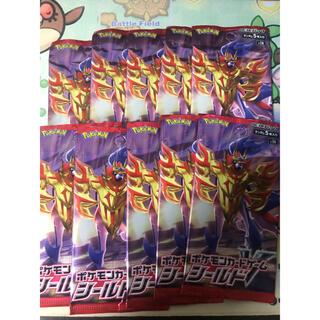 ポケモン(ポケモン)のポケモンカード  シールド 10パック(Box/デッキ/パック)