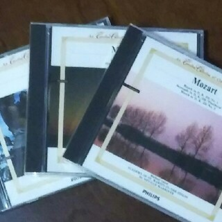 PHILIPS - ◆フィリップス◆モーツァルトCD3枚セット