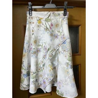PROPORTION BODY DRESSING - プロポーションボディドレッシング 花柄スカート2点セット