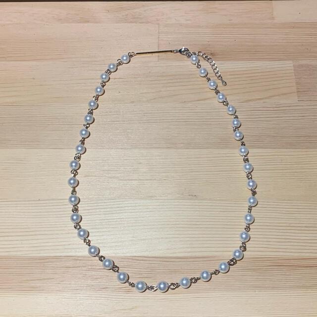 パールネックレス pearl necklace  メンズのアクセサリー(ネックレス)の商品写真