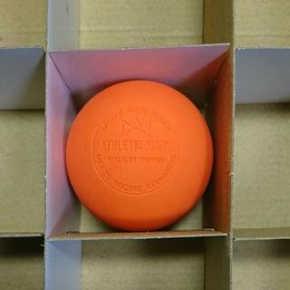 ラクロスボール  ストレッチボール オレンジ1個(ヨガ)