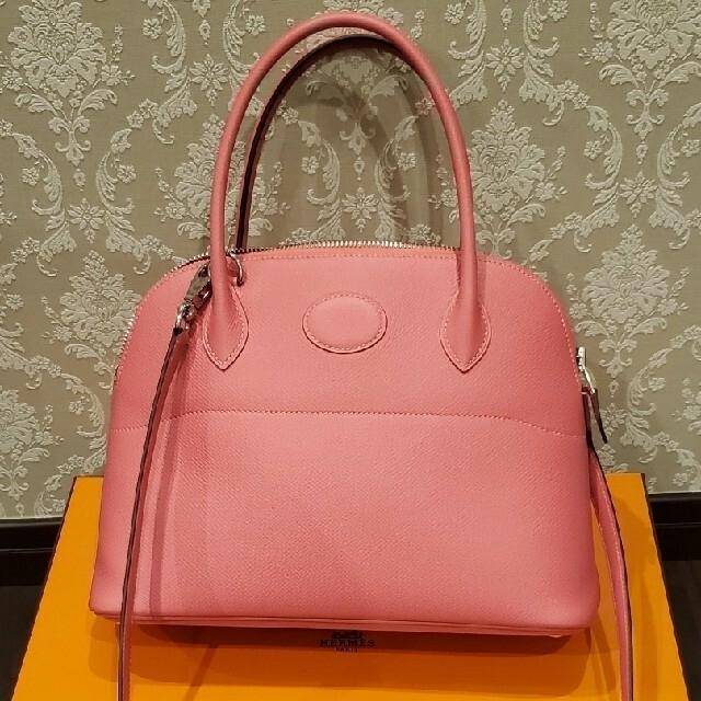 Hermes(エルメス)のエルメス ボリード27 ローズアザレ レディースのバッグ(ハンドバッグ)の商品写真