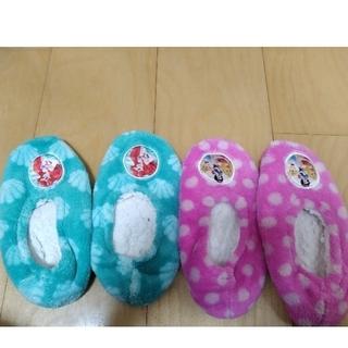 ディズニー(Disney)のコストコ ディズニー 子供用 ルームシューズ(靴下/タイツ)