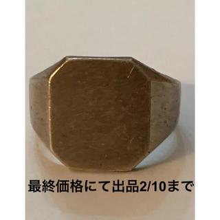 RRL - 超希少&美品!ビンテージナバホシルバーリングRRL1940's Sz.8 1/4