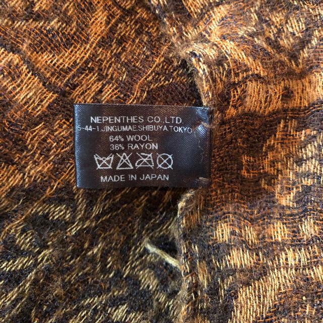 Needles(ニードルス)のneedles(ニードルス)マフラー メンズのファッション小物(マフラー)の商品写真