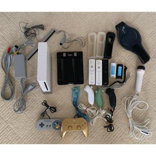 ウィー(Wii)のWii本体 ソフト36本 その他アクセサリー すぐ遊べるセット☆(家庭用ゲーム機本体)