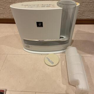 シャープ(SHARP)のSHARP 加湿機能付セラミックファンヒーター 正常作動品(その他)