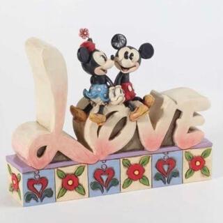 ミッキーマウス(ミッキーマウス)のジムショア(Jim Shore) ディズニー ミッキー&フレンズ (キャラクターグッズ)