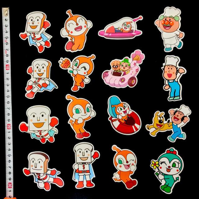 アンパンマン(アンパンマン)のアンパンマン シール 57枚 キッズ/ベビー/マタニティのおもちゃ(知育玩具)の商品写真