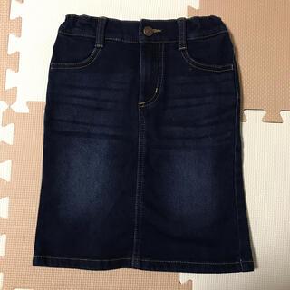 GU - GU デニムスカート(膝丈) 110cm 美品