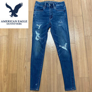 American Eagle - 【AMERICAN EAGLE OUTFITTERS】デニム パンツ スキニー