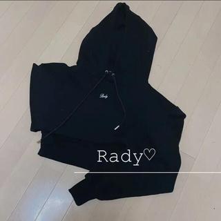 レディー(Rady)の【送料込み】Rady♡ショートフーディ(パーカー)