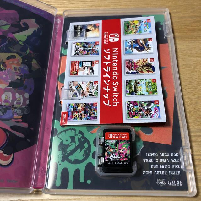Nintendo Switch(ニンテンドースイッチ)のスプラトゥーン2 Switch 陽ぺ様専用 エンタメ/ホビーのゲームソフト/ゲーム機本体(家庭用ゲームソフト)の商品写真
