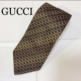 Gucci - 【未使用品】GUCCI インターロッキングGG ネクタイ 箱なし