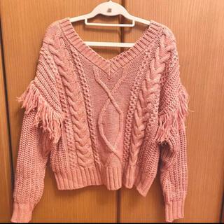 moussy - moussy マウジー ニット セーター