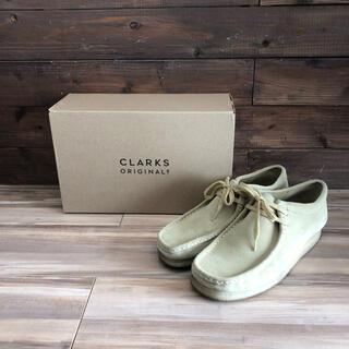 Clarks - 美品 clarks ワラビー メープル ローカット