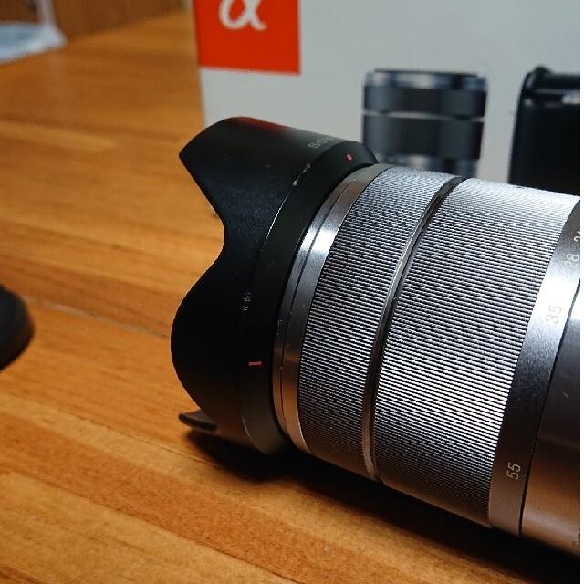 SONY(ソニー)の【格安SONYミラーレス】NEX-F3K ズームレンズキット (自撮り可)    スマホ/家電/カメラのカメラ(ミラーレス一眼)の商品写真