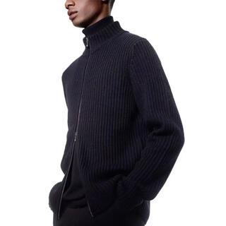 UNIQLO - +J ミドルゲージリブフルジップセーター